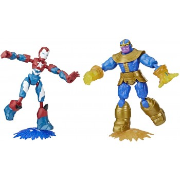 Iron vs Thanos - Bend And...