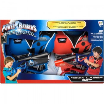 Mega laser set - Power Rangers