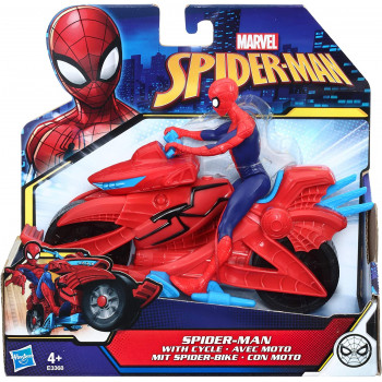 Marvel Spider-Man con Moto