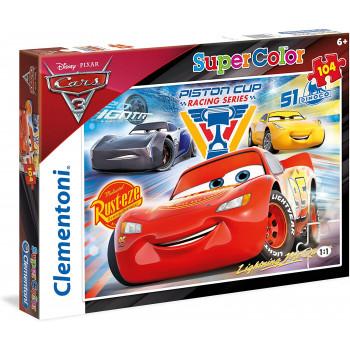 27072 - Puzzle Cars 104 pezzi