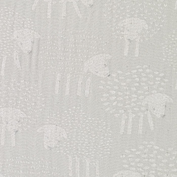 Mussolina di BambùSheep Grey