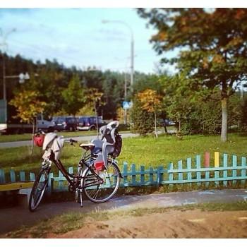 Seggiolino bici posteriore...
